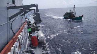 14 ABK WNI dari Kapal China Tiba dan Langsung Dikarantina