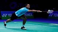 Tommy Langsung Kalah di Babak Pertama Indonesia Open