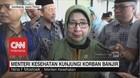 Menteri Kesehatan Kunjungi Korban Banjir Jawa Timur