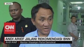 Andi Arief Jalani Rekomendasi BNN