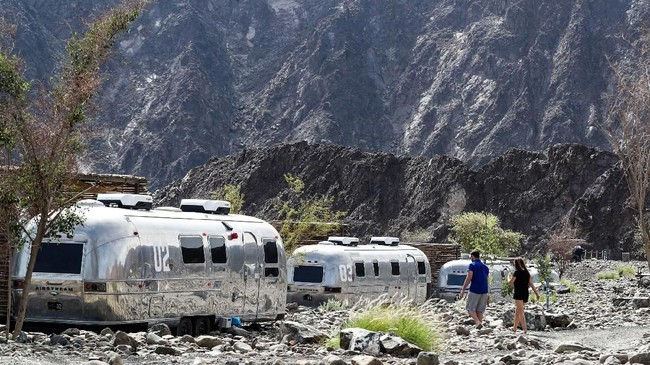 Pada 2020, Dubai menargetkan kedatangan 20 juta turis. (AFP/Karim Sahib)