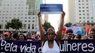 FOTO: Dunia Rayakan Hari Perempuan Internasional