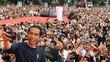Di Depan Ribuan Mitra Gojek, Jokowi Pamer Ekonomi Digital