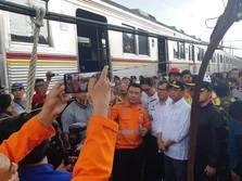 Jalur Kelar Diperbaiki, KRL Bogor-Jakarta Beroperasi Normal