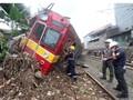 KRL Anjlok Jakarta-Bogor, Korban Luka Capai 17 Orang