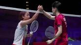 Tunggal putri China Yufei Chen tidak banyak menemui kesulitan dalam mengalahkan wakil JepangNozomi Okuhara21-17, 21-11 dengan catatan waktu 42 menit.(Action Images via Reuters/Andrew Boyers)