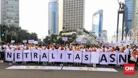 KASN Indikasikan Pejabat Arahkan PNS Dukung Peserta Pemilu