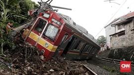 Perbaikan Kereta Anjlok Selesai, KRL Rute Bogor Normal