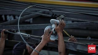 Daftar Nama 17 Korban Luka Insiden KRL Jakarta-Bogor Anjlok