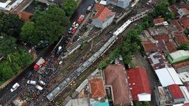 KRL Anjlok Telah Dievakuasi, Operasional KRL Hingga Bogor