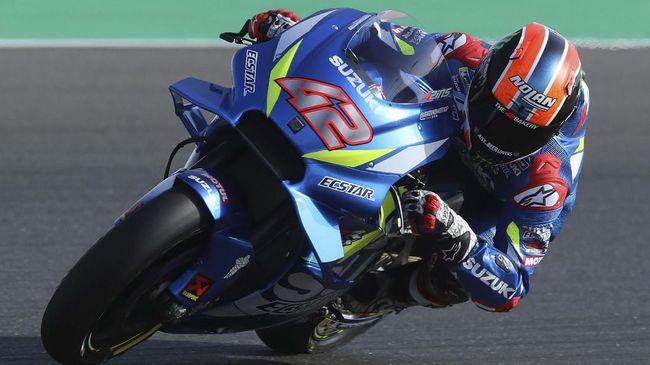 Hasil MotoGP Amerika Serikat: Marquez Kecelakaan, Rins Menang