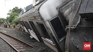 Anjlok, Kemenhub Turunkan Tim ke Jalur KRL Jakarta-Bogor