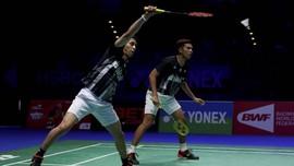 Fajar/Rian vs Kevin/Marcus di Perempat Final Malaysia Terbuka
