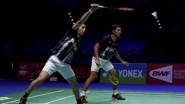 Fajar/Rian Menang, Dua Wakil Indonesia ke Final Swiss Terbuka