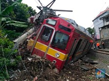 KRL Bogor-Jakarta Anjlok, Menhub Tinjau Lokasi Siang Ini