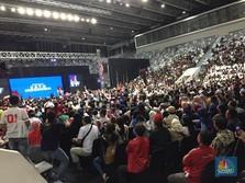 Di Hadapan Milenial, Jokowi Luncurkan Dua Kartu Pamungkas