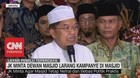 JK Minta Dewan Masjid Larang Kampanye di Masjid