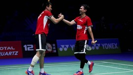 Bekuk Ganda China, Ahsan/Hendra ke Final Singapura Terbuka