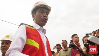 Jokowi Resmikan Proyek Pengendali Banjir Terowongan Nanjung