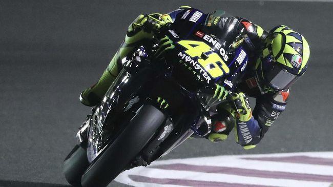 Rossi Runner Up MotoGP Argentina Karena Sabar Susul Dovizioso