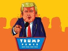 Mulianya Donald Trump, Seluruh Gajinya Disumbangkan!
