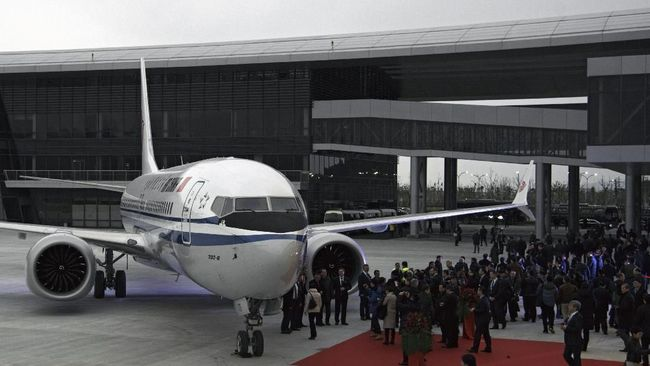 Kecelakaan dan Larangan Terbang, Saham Boeing Rontok