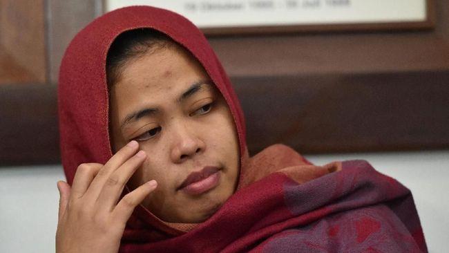Pemerintah Serahkan Siti Aisyah ke Keluarga