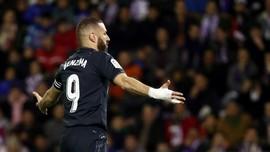 Sempat Tertinggal, Real Madrid Menang Telak Atas Valladolid