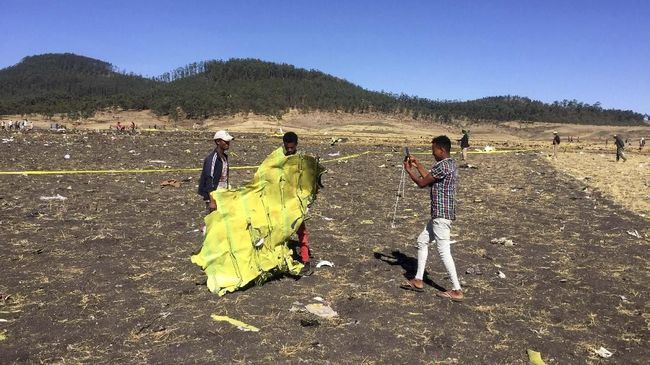 Jasad WNI Korban Insiden Ethiopian Airlines Belum Ditemukan