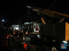 Evakuasi Tuntas, Perjalanan KRL dari Bogor Masih Satu Jalur