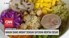 Makan Siang Nikmat dengan Sayuran Mentah Segar
