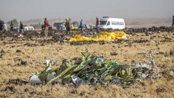 Data black box pesawat Ethiopian Airlines menunjukkan