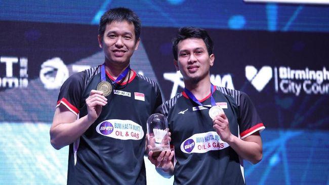 Jokowi Beri Selamat pada Juara All England Ahsan/Hendra