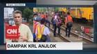 Dampak KRL Anjlok, Penumpang Beralih ke Bus