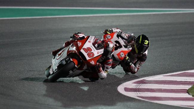 Dimas Ekky Finis di Posisi ke-22 Moto2 Amerika Serikat