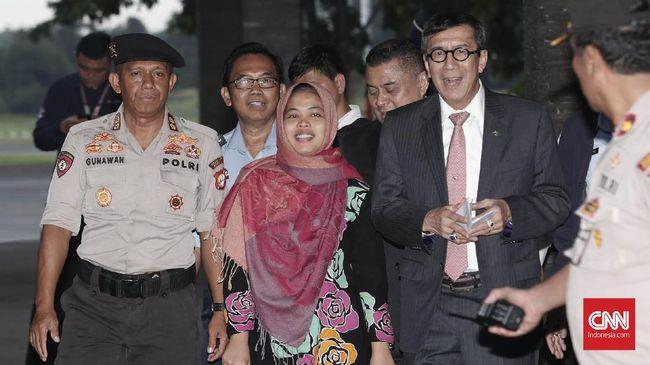 Yasonna Yakin Siti Aisyah Takkan Diproses Lagi di Malaysia