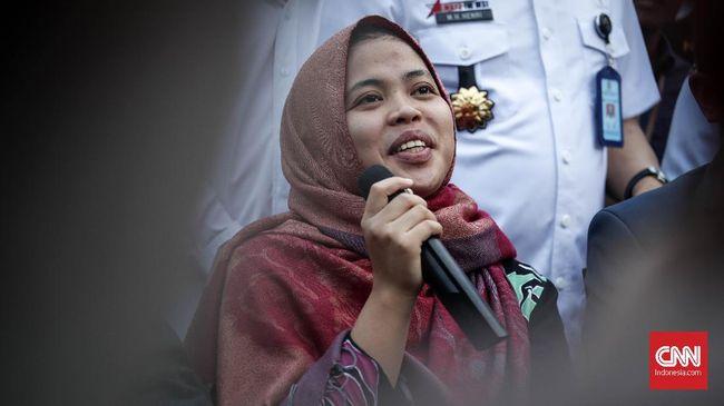 Tiba di Indonesia Usai Bebas, Siti Aisyah Mau Temui Keluarga