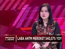 Laba Antam Meroket 540,57%