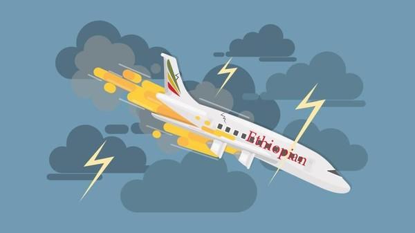 Ethiopian Airlines Jatuh
