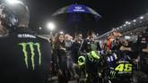 Valentino Rossi yang gagal lolos Q2 menempati posisi start ke-14 pada MotoGP Qatar 2019. (REUTERS/Ibraheem Al Omari)