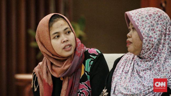 Siti Aisyah Bersyukur Bisa Bebas dari Kasus Kim Jong-nam