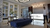 Ruang Spa Albeardi Gran Manzana Hotel, Havana, Kuba.Tarif menginap di hotel yang memiliki ruangan spa seluas 1.000 meter persegi ini mulai dari US$370 per malam. Tersedia juga ruangan paling mewah seharga US$5.000 per malam.