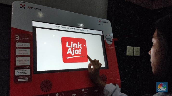 Platform pembayaran dari PT Fintek Karya Nusantara, LinkAja, menggelar promosi bagi pelanggan Alfacart.