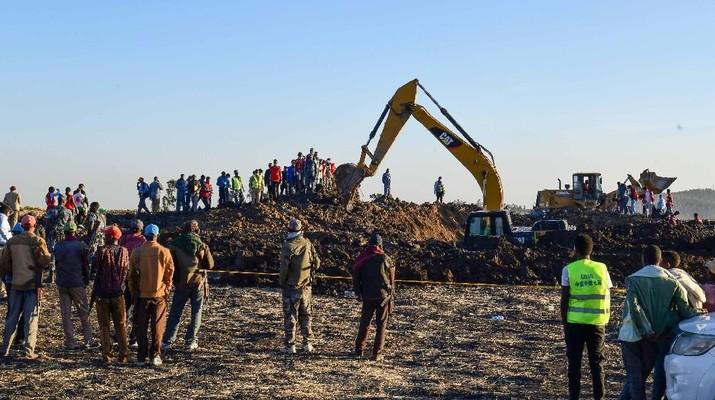 Tragedi Pesawat Ethiopian Airlines, 157 Orang Tewas