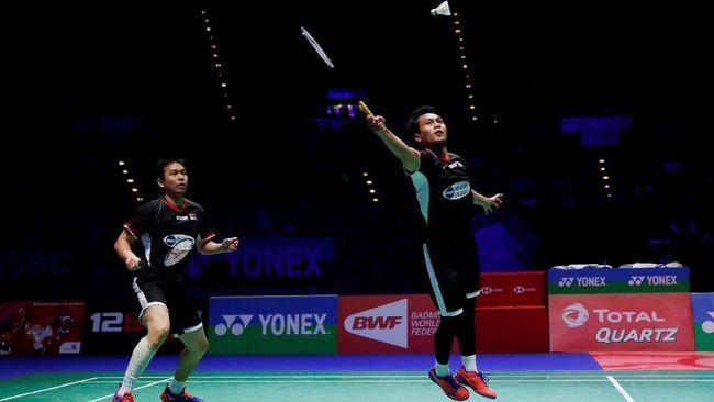 Tekuk Ganda Malaysia, Hendra/Ahsan ke Semifinal