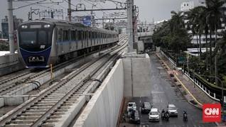 Menko Darmin Yakin MRT Tekan Kerugian Rp65 T Akibat Kemacetan