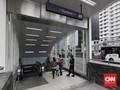 Lima Rute Transjakarta Lewat Stasiun MRT Ramai Penumpang
