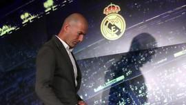 Semangat Nostalgia Zidane Kembali Sambangi Real Madrid