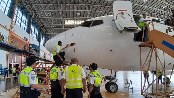 Komite Nasional Keselamatan Transportasi (KNKT) menyebut, Boeing telah menyebar surat ke 59 maskapai terkait jenis 737 MAX 8.