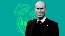INFOGRAFIS: Jejak Langkah Zidane Kembali ke Real Madrid